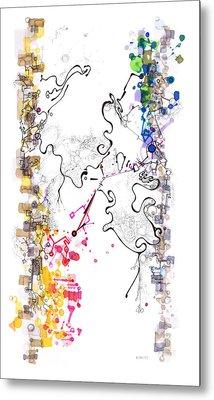 D Branes Metal Print by Regina Valluzzi