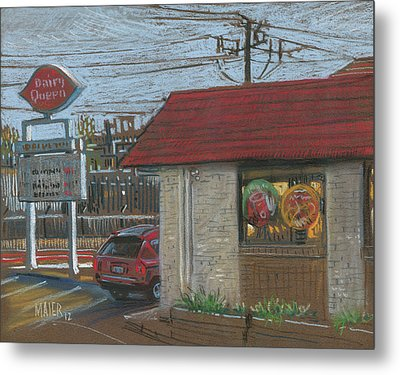 Dairy Queen Metal Print by Donald Maier