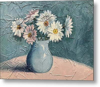 Daisies Metal Print by Janet King