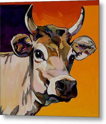 Metal Print featuring the painting Daisy by Bob Coonts