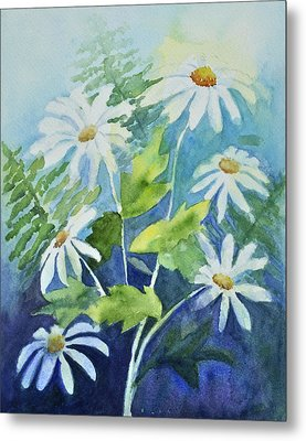 Daisy Delight  Metal Print by Sandy Fisher