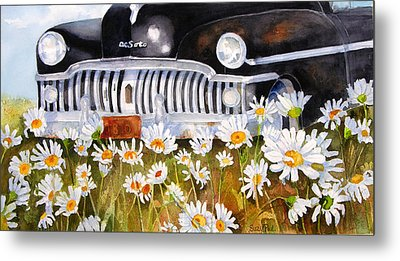 Daisy Desoto Metal Print by Suzy Pal Powell