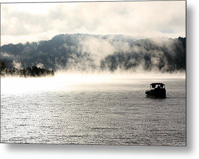 Dale Hollow Morning Fishing Metal Print