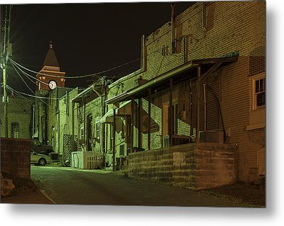 Dallas Alley Metal Print by Robert Myers