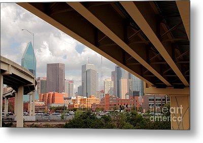 Dallas Backside Metal Print by Robert Frederick