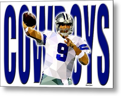 Dallas Cowboys Metal Print by Stephen Younts
