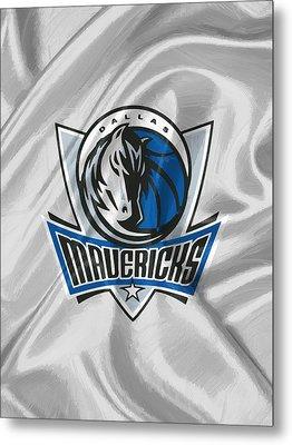 Dallas Mavericks Metal Print by Afterdarkness