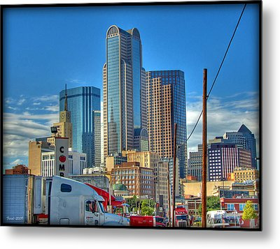Metal Print featuring the photograph Dallas Morning Skyline by Farol Tomson
