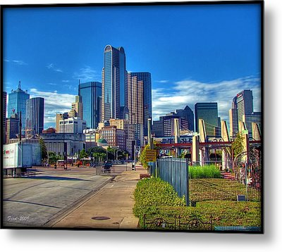 Metal Print featuring the photograph Dallas Skyline by Farol Tomson