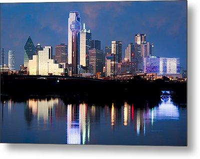 Dallas Skyline May 2015 Metal Print