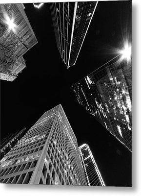 Dallas Up Metal Print by John Gusky
