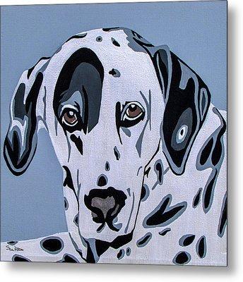 Dalmatian Metal Print by Slade Roberts