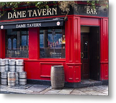 Dame Tavern Metal Print by Rae Tucker