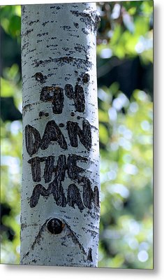 Dan The Man Metal Print by Eric Tressler