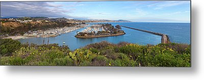 Metal Print featuring the photograph Dana Point Panoramic by Cliff Wassmann
