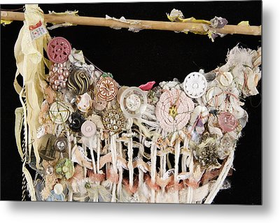 Dance Card Metal Print by Susie DeZarn