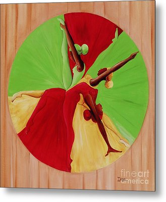 Dance Circle Metal Print by Ikahl Beckford