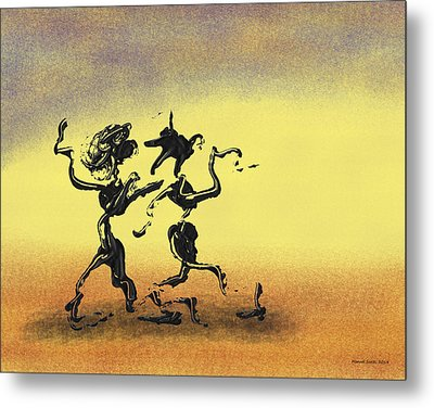 Dance I Metal Print by Manuel Sueess