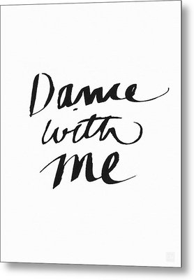 Dance With Me- Art By Linda Woods Metal Print by Linda Woods