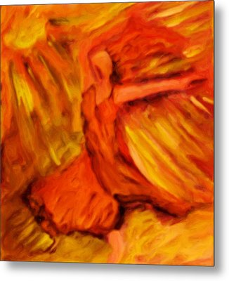 Dance With The Sun Metal Print by Shelley Bain