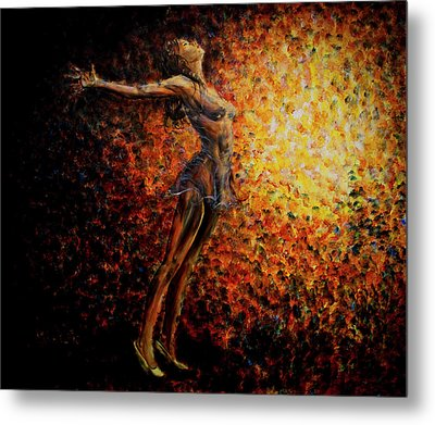 Dancer 03 Metal Print by Nik Helbig