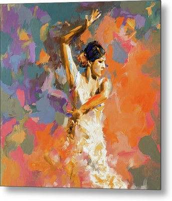 Dancer 283 1 Metal Print by Mawra Tahreem