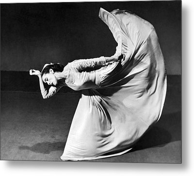 Dancer Martha Graham Metal Print by Underwood Archives