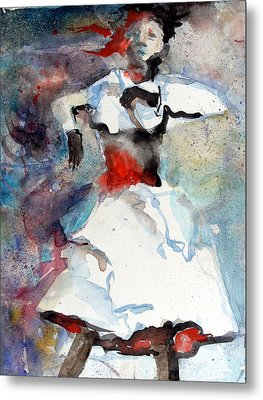 Dancer Metal Print by Mindy Newman