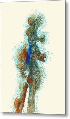 Dancer- #ss14dw030 Metal Print by Satomi Sugimoto