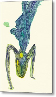 Dancer - #ss14dw045 Metal Print by Satomi Sugimoto