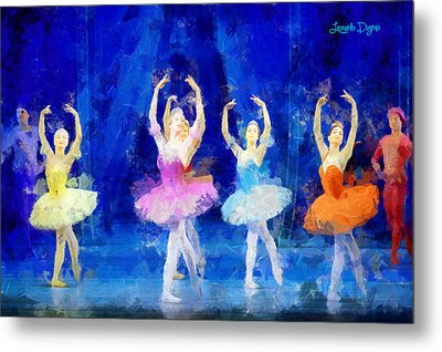 Dancing Beauty - Pa Metal Print