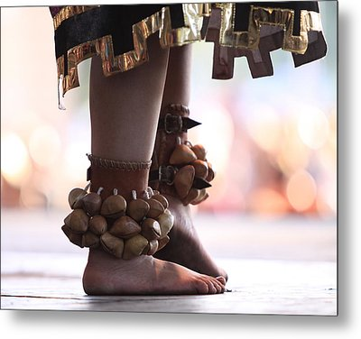 Dancing Feet Metal Print by Kate Purdy