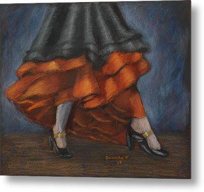 Dancing Feet Metal Print by Quwatha Valentine