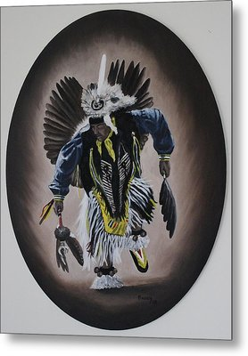 Metal Print featuring the painting Dancing In The Spirit by Michael  TMAD Finney
