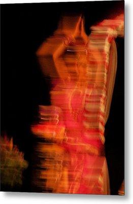 Dancing Mirage Metal Print by Vijay Sharon Govender