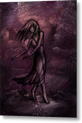 Dancing Metal Print by Rachel Christine Nowicki