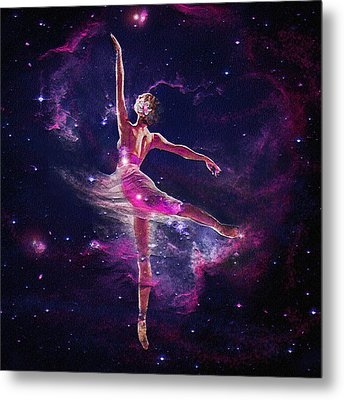 Metal Print featuring the digital art Dancing The Universe Into Being 2 by Jane Schnetlage