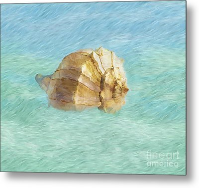 Metal Print featuring the photograph Dancing With The Sea by Betty LaRue