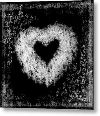 Dandelion Love Metal Print by Tamyra Ayles