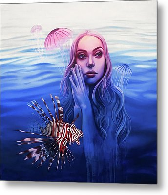 Dangerous Desires Metal Print by Kelly Meagher