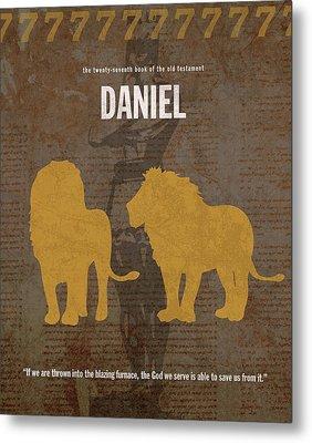 Daniel Books Of The Bible Series Old Testament Minimal Poster Art Number 27 Metal Print