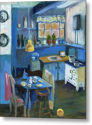 Danish Kitchen Metal Print