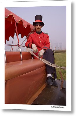 Metal Print featuring the photograph Dapper Dan From Dalian by R Thomas Berner