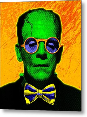 Dapper Monster Metal Print by Gary Grayson