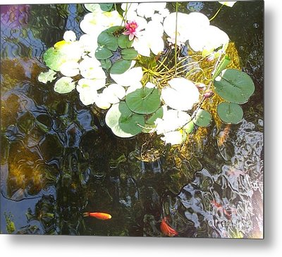 Dappled Tranquility  Metal Print