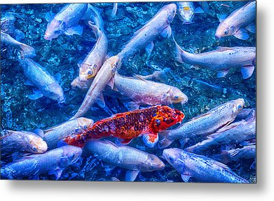Dare To Stand Out Metal Print