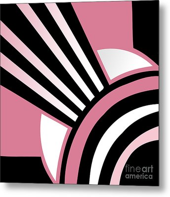 Daring Deco I Metal Print by Mindy Sommers