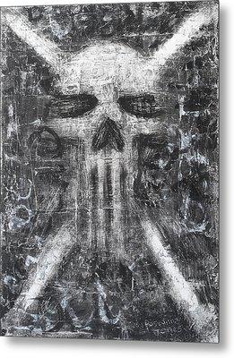 Dark Departure Metal Print by Roseanne Jones