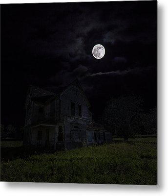 Dark Embrace Metal Print by Aaron J Groen