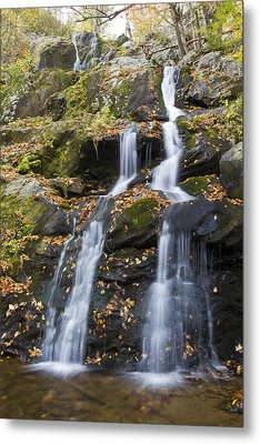 Dark Hollow Falls Shenandoah National Park Metal Print by Pierre Leclerc Photography